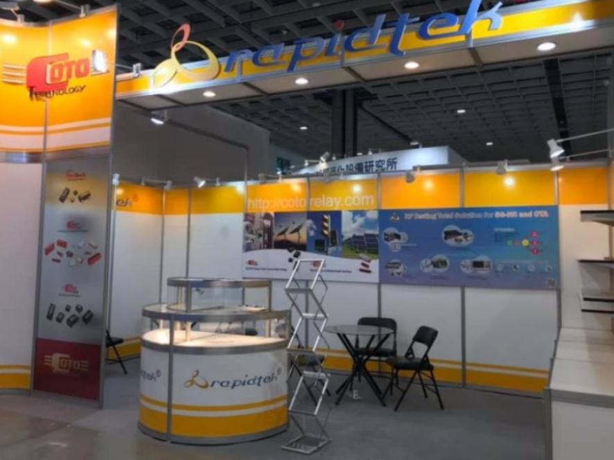 Rapidtek in the SEMICON Taiwan 2019